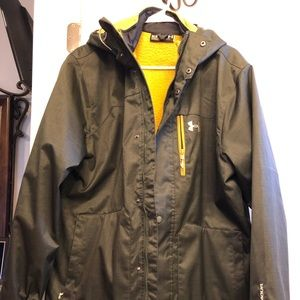 Double Layer Green Under Armour Jacket